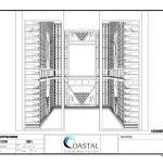 California Wine Cellars Design Drawing - Offshore