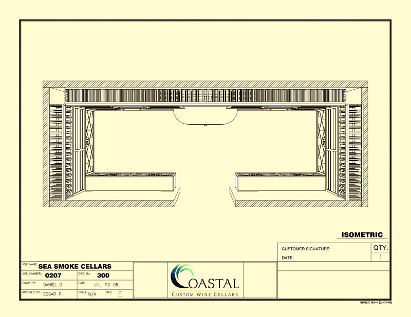Get a Stunning Wine Cellar Design of your own - Work With Coastal