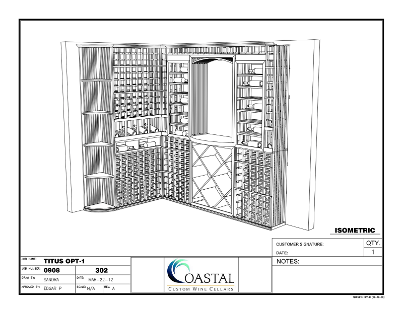 FREE 3 Dimensional Custom Wine Cellar CAD Package – Take Action Today!