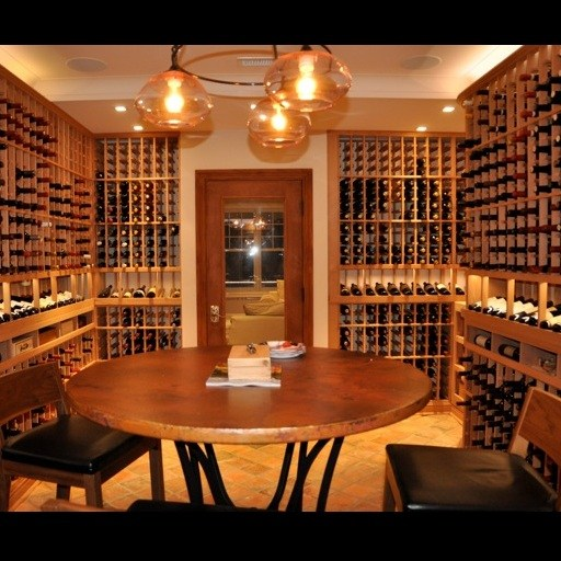 Custom Wine Cellar Design – Entertainment – Watermill NY