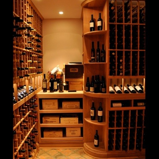 Custom Wine Cellar Installer – Curved Corner – Watermill NY