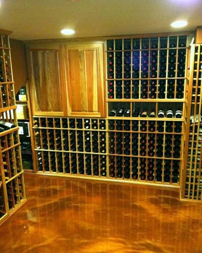 Get your own Custom Wine Room 3D Design Los Angeles CA