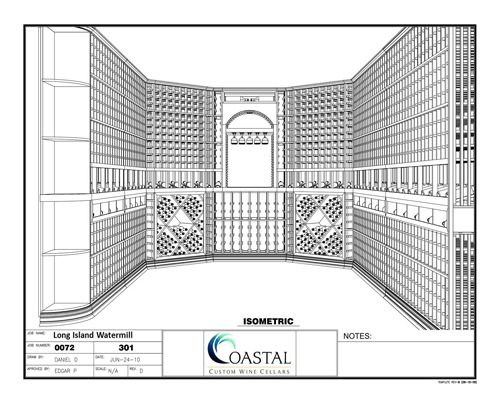 Free 3D Design Custom Wine Cellars Builders Package New York