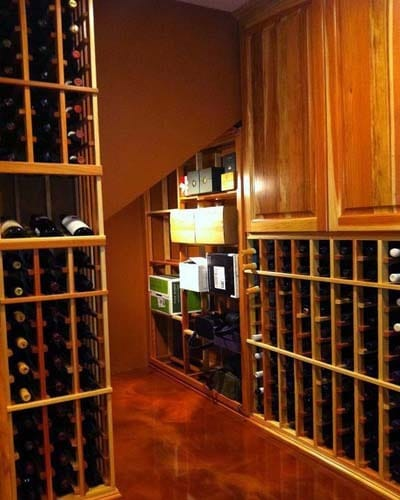 3D Wine Room Storage Design FREE - Los Angeles