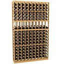 10 Column Wine Rack Display