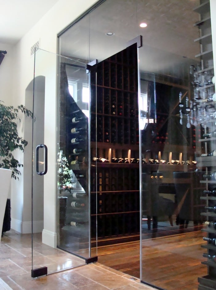 Custom Wine Cellar Design Features - Offshore Project