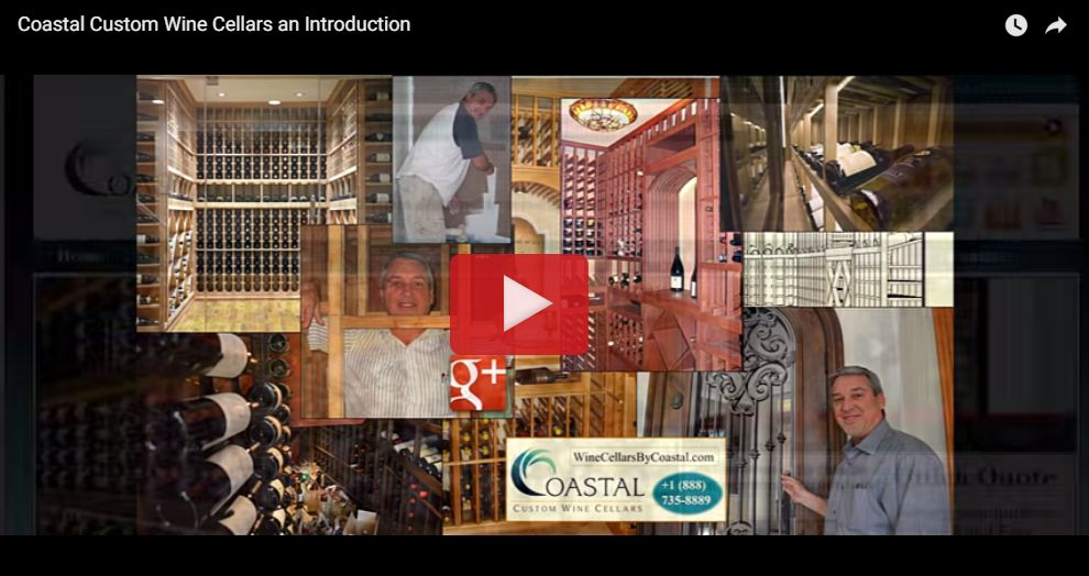 Coastal Custom Wine Cellars an Introduction