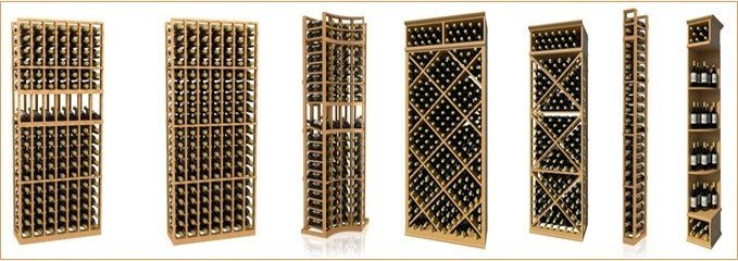 Coastal Series Wine Racks - Design Your Own Custom Wine Cellar