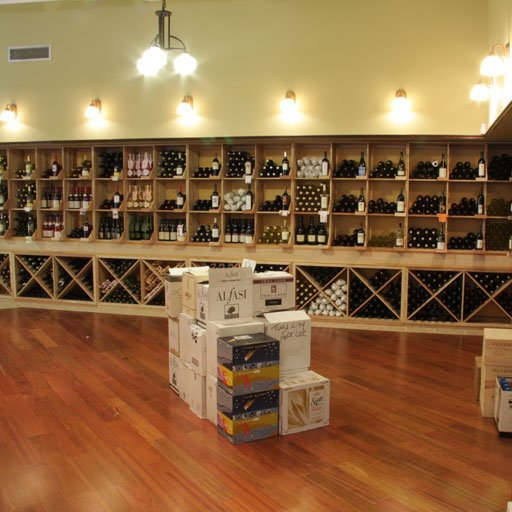 Custom Commercial Wine Cellar Lighting by Coastal