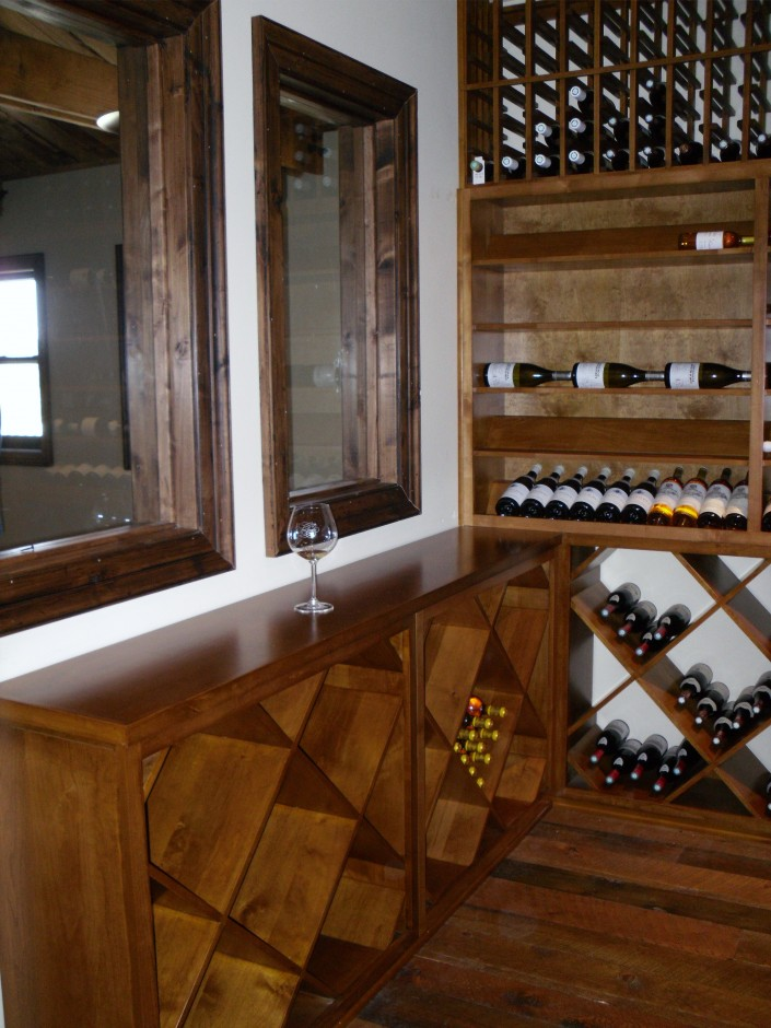 Diamond Bin Wine Racking Provide an Excellent Case Management Solution Sea Smoke Cellars