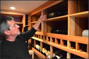 Jerry Wilson at Coastal Custom Wine Cellars in California