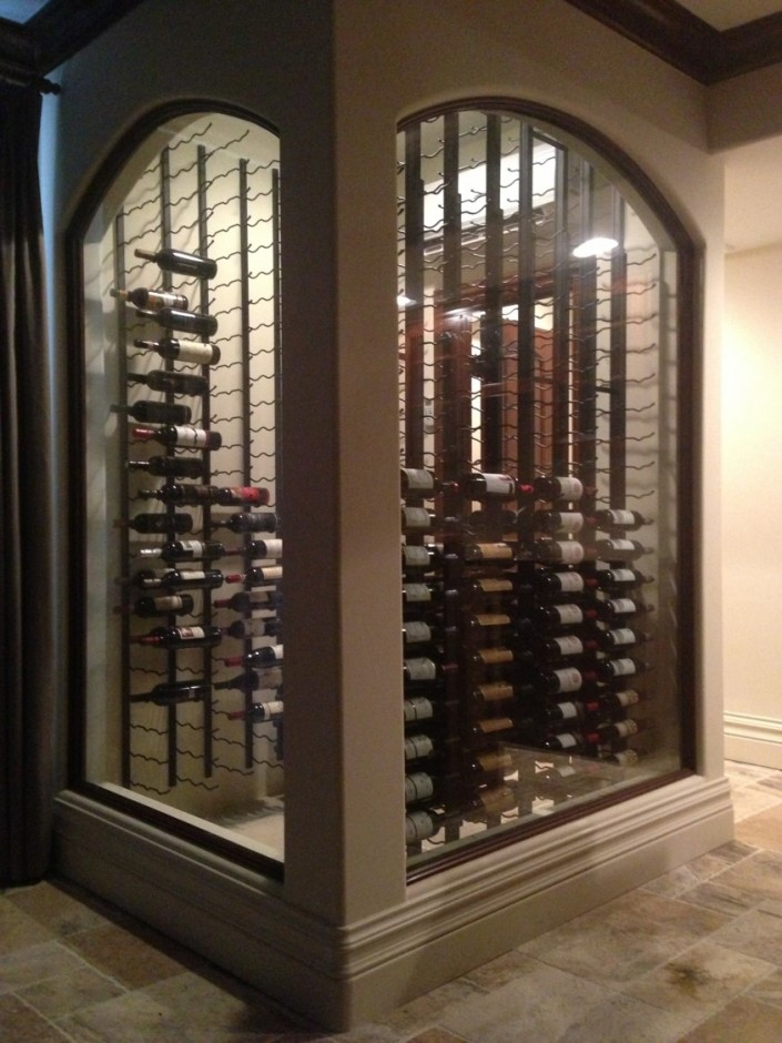San Francisco Residential Custom Wine Cellars Tarzana Project