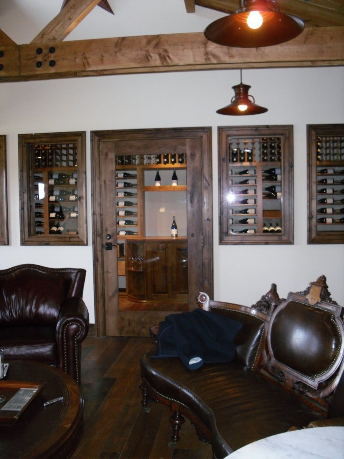 Sea Smoke Commercial Wine Cellar Display Project California