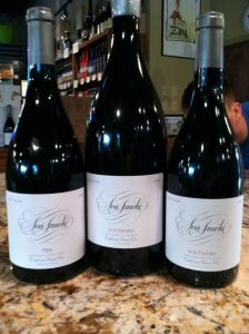 Sea Smoke Vinyard Wine Presentation