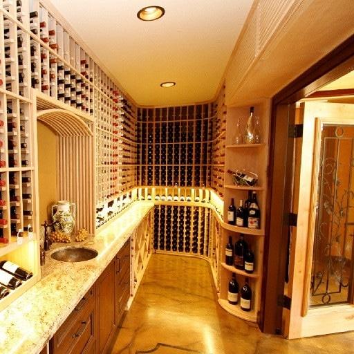 Wine cellar Lighting Goldberg Project