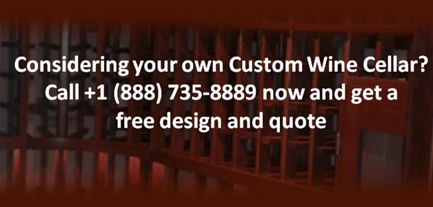 Custom Wine Cellar Baltimore Maryland - Call us for a free wine cellar design