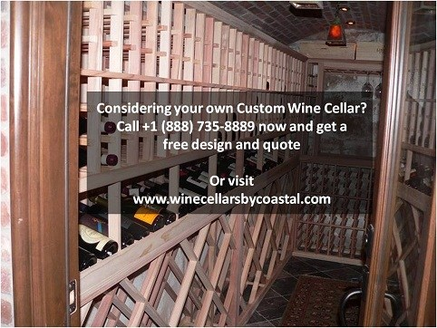 Custom Wine Cellar New Jersey Kapur - Call us for a free design!