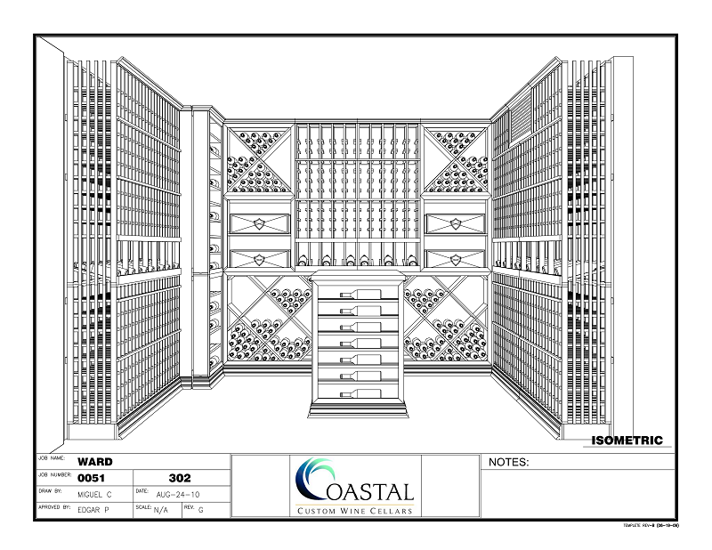 FREE Boston Wine Cellar Design 3D Package – Begin Your Own Project Today!