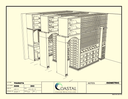 Click to see full size - Custom Wine Cellar Designs