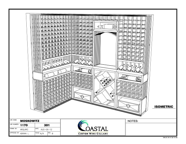 Start here - We can help you build your ideal custom wine cellar