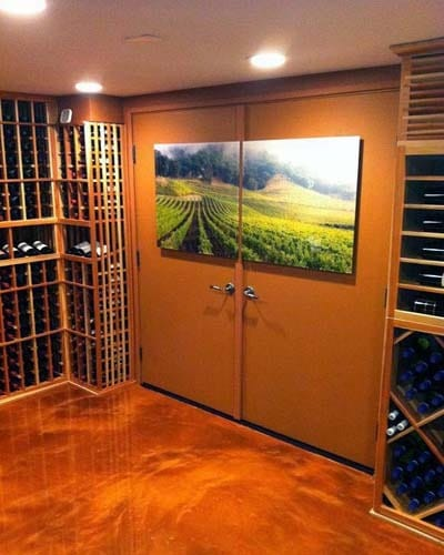 3D Custom Wine Room Storage Free Custom Wine Cellar Design California