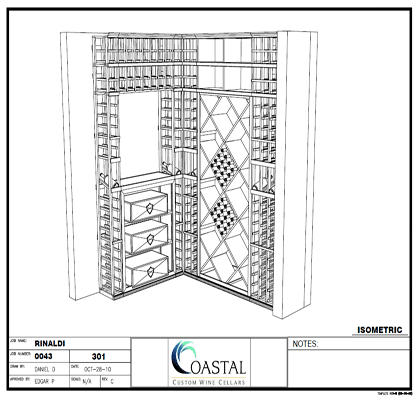 Get your own Custom Wine Cellar New York Designed today