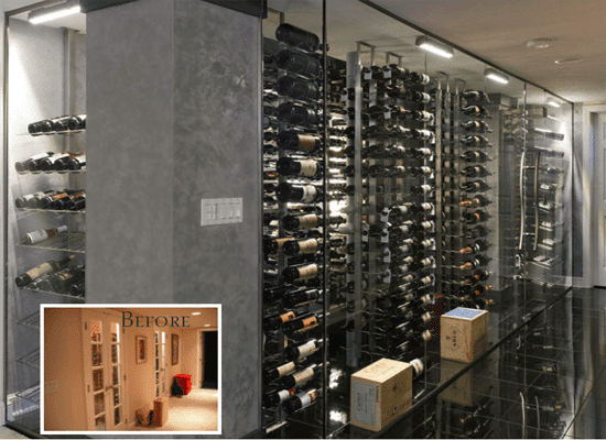 Considering having your own Contemporary Wine Cellars? Click here and start with a FREE design package