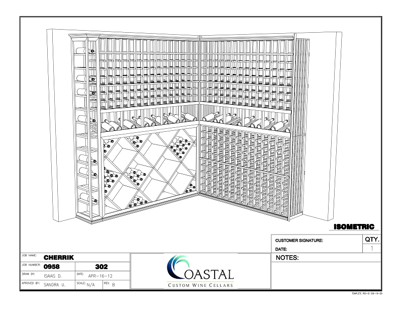Get a 3D Wine Cellar Design of your own Today!