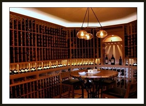 Home Wine Room Lighting Effect