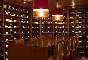 ICH Wine Room Lightning Chicago