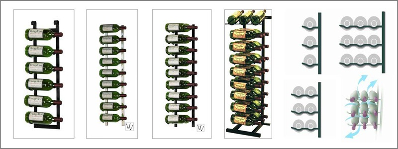 Considering having your own Metal Wine Racks based Contemporary Wine Cellar? Click here and start with a FREE design package