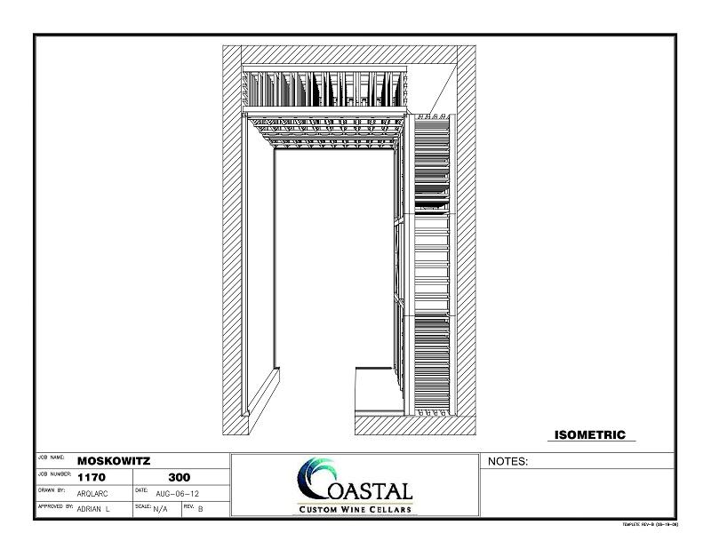 Build your own unique custom wine cellar design with Coastal Custom Wine Cellars