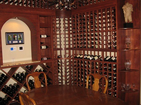 Wine Cellar Philadelphia Pennsylvania Customized for Sculpture