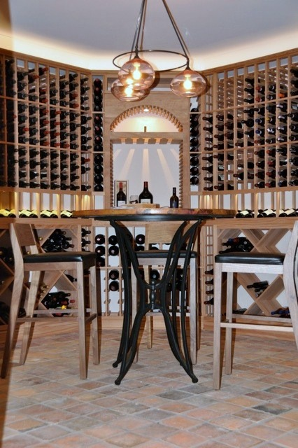 Get your own Residential Wine Tasting Room Free 3D Design