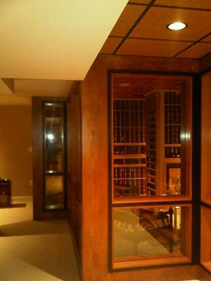 Glass Walls Residential Wine Rooms New Jersey