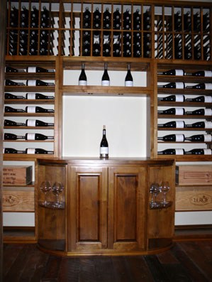 wine cellar accessories santa barbara california
