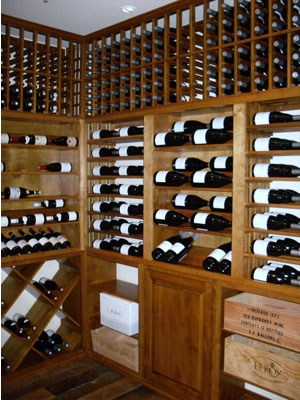 custom wine cellar santa barbara california