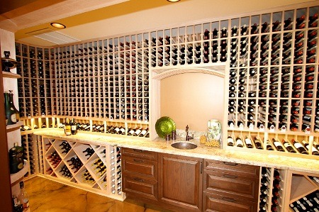 Completed Wine Cellar In Waimanalo Oahu