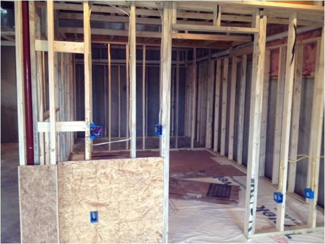 Wine Cellar Builders San Diego California, Renovation Project Before Construction