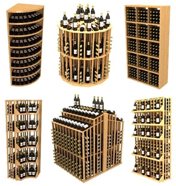 Extensive Range of Budget Modular Commercial Wine Display Racking