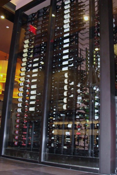 Orange County Restaurant Capital Seafood Contemporary Cellar Display