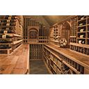 Cooperage Countertops, Impressive Custom Wine Cellar Designs