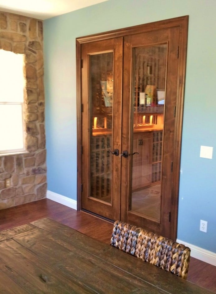 Wine Cellar Security in the Home Custom Doors