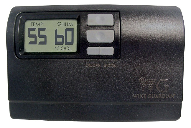 Wine Guardian Remote Interface Controller From Coastal Display Temperatures in Degress F or C
