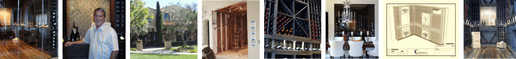 California Offshore Residential Wine Cellar Design Project New