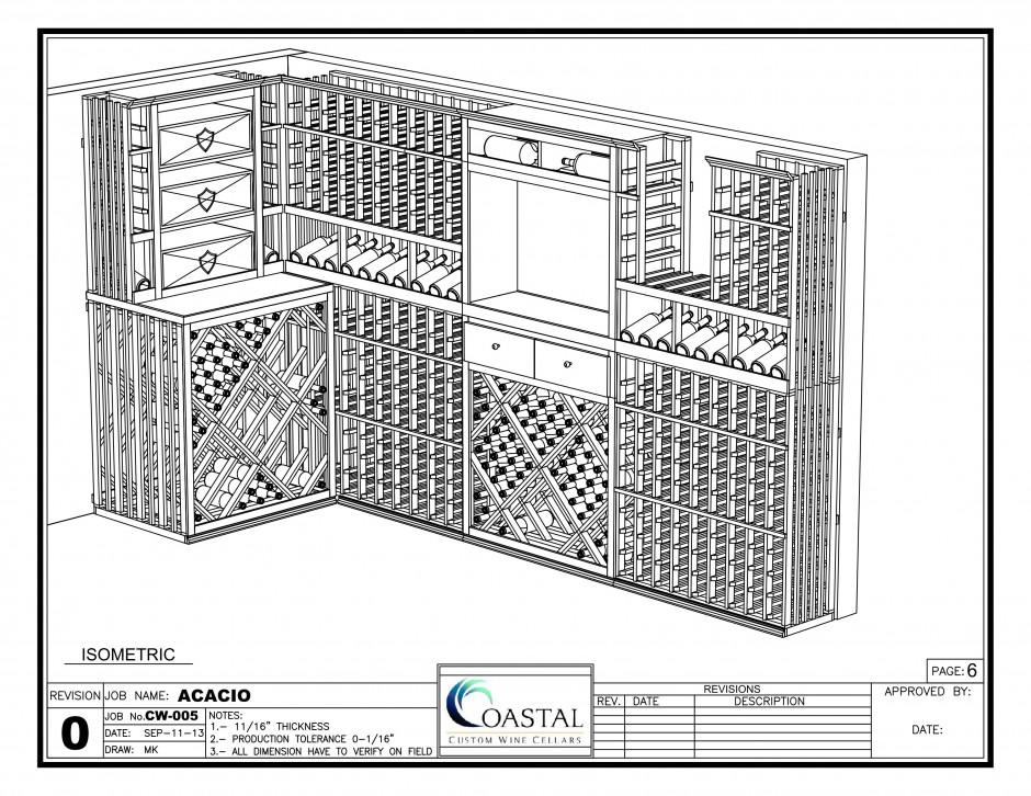 3D Wine Cellar Design