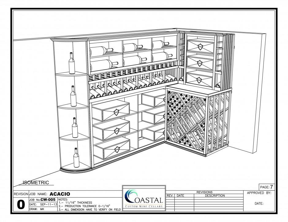 Custom Wine Rack Design