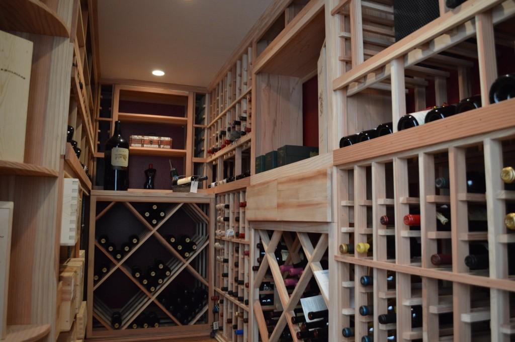 Garage Conversion Dana Point California Wine Cellar