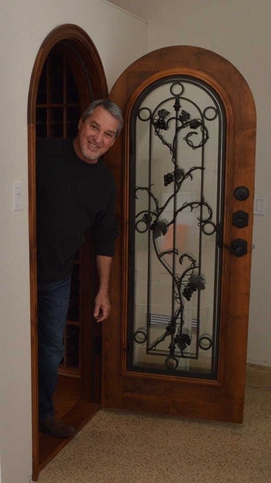 Residentail Wine Cellar Doors Dana Point Project