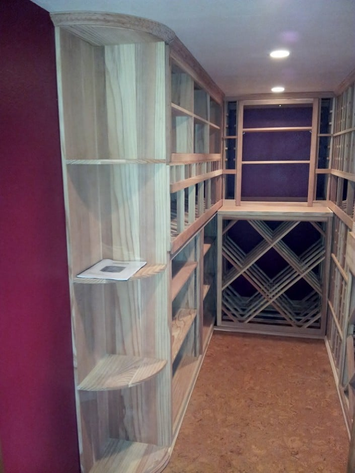 Wine Rack Design – Dana Point California Project